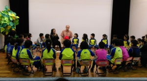 Dr. Jackson at the National Chiayi Affiliated Experimental School
