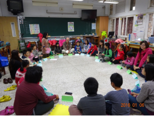 Dr. Jackson with Xing-zhong Elementary School